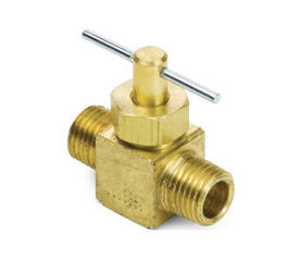 Brass Male Pipe Needle Valves DC-106